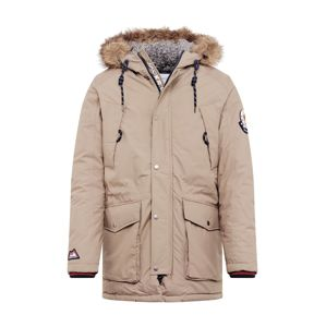 JACK & JONES Zimní bunda 'JOREXPLORE LIMITED PARKA'  šedá