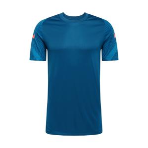 NIKE Funkční tričko 'Strike'  královská modrá / oranžová