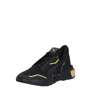 PUMA Sportovní boty 'Team Gold'  zlatá / černá