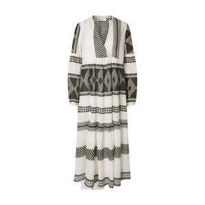 Neo Noir Letní šaty 'Miles Big Aztec'  černá / přírodní bílá