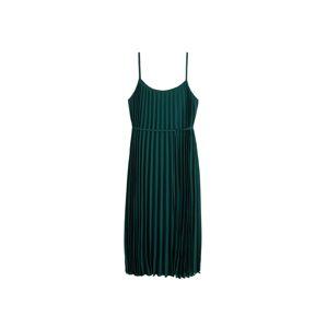 MANGO Letní šaty 'Plisado'  jedle