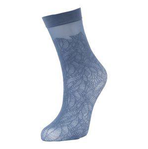 FALKE Ponožky 'Flora'  námořnická modř