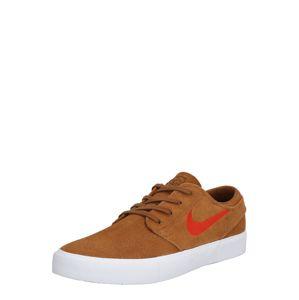 Nike SB Tenisky 'Nike SB Zoom Janoski RM'  hnědá / červená