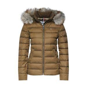 Tommy Jeans Zimní bunda  khaki