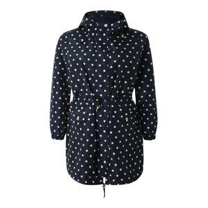 Junarose Přechodný kabát 'NEW KLINK'  bílá / černá