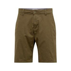 Only & Sons Chino kalhoty 'CAM'  olivová