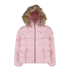 TOMMY HILFIGER Zimní bunda  růžová / světle hnědá