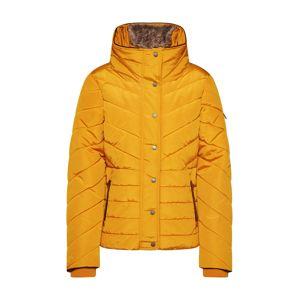 TOM TAILOR Zimní bunda  zlatě žlutá