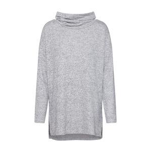 TOM TAILOR Tričko  stříbrně šedá / šedý melír