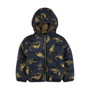 LEMON BERET Zimní bunda  námořnická modř / žlutá / zelená