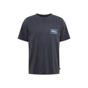 QUIKSILVER Funkční tričko 'MIDNIGHT SHOW'  černá / mix barev