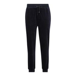 BOSS Pyžamové kalhoty  tmavě modrá