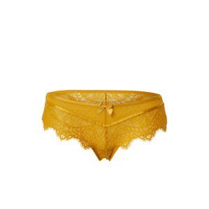Hunkemöller Kalhotky 'Marilee'  zlatá / žlutá