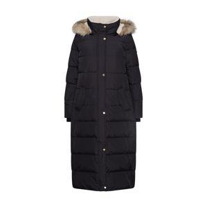 Lauren Ralph Lauren Zimní kabát 'HQLT MXI BBR-COAT'  černá