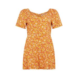 Cotton On Curve Overal 'Fiona'  žlutá / medová / oranžová / bílá
