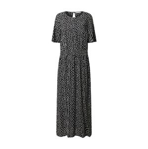 Dorothy Perkins (Tall) Šaty 'Tall Shirred Waist Midi Dress'  černá
