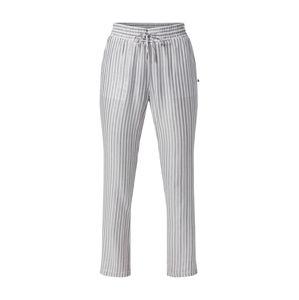 Le Temps Des Cerises Kalhoty 'BARBARA'  stříbrně šedá / bílá
