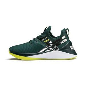 PUMA Sportovní boty 'Jaab Xt Tz'  tmavě zelená / stříbrná