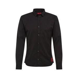 HUGO Společenská košile 'Ero3-W 10107897 06'  černá