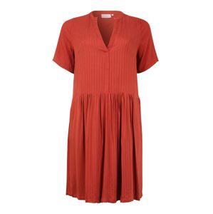 ONLY Carmakoma Letní šaty 'CARMALANI DRESS'  rezavě hnědá