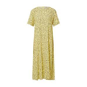 MOSS COPENHAGEN Šaty 'Jillian'  bílá / žlutá