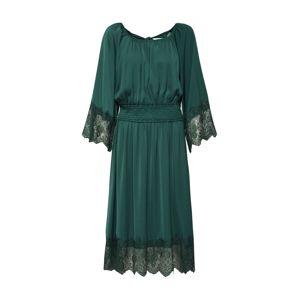 VILA Šaty 'VIFLUX 3/4 SLEEVE DRESS'  zelená