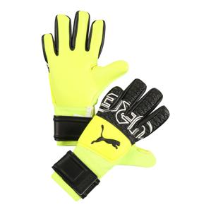 PUMA Sportovní rukavice 'FUTURE'  svítivě žlutá / černá / bílá