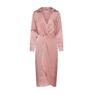 GLAMOROUS Společenské šaty 'LADIES WOVEN DRESS'  růžová