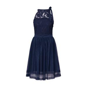 VILA Koktejlové šaty 'ZINNA'  tmavě modrá