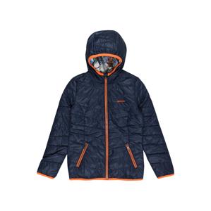 VINGINO Přechodná bunda 'Tenise'  tmavě modrá / oranžová / bílá / mix barev