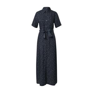 DENHAM Košilové šaty 'DENISE'  bílá / noční modrá