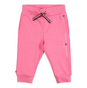 TOMMY HILFIGER Kalhoty  světle růžová / bílá / tmavě modrá