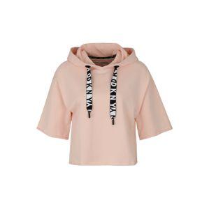 DKNY Sport Sportovní mikina  růžová