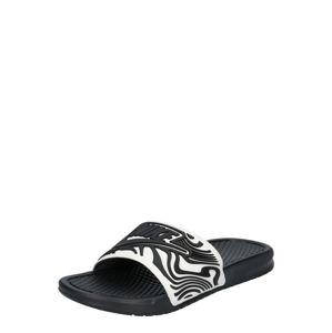 Nike Sportswear Pantofle 'BENASSI JDI SE'  černá / bílá