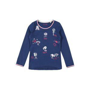 Sanetta Kidswear Tričko  modrá / pink / bílá
