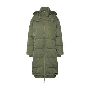 Envii Zimní kabát 'ENTABLE LONG JACKET 6653'  khaki