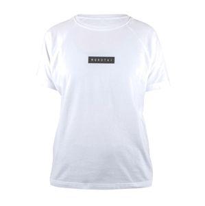 MOROTAI Funkční tričko ' Bloc Logo Shirt '  bílá