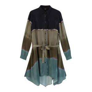 Desigual Košilové šaty 'Vest Toronto'  mix barev