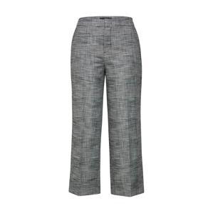 SET Kalhoty se sklady v pase  šedá