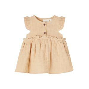 Lil ' Atelier Kids Šaty  žlutá