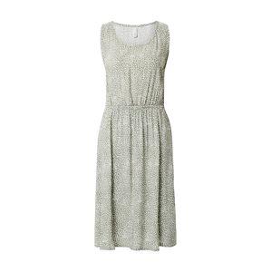 Soyaconcept Letní šaty 'Immely 3'  tmavě zelená / béžová