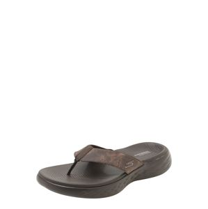 SKECHERS Žabky '3 Point Perform Tex Sandal Molded Footbed'  hnědá