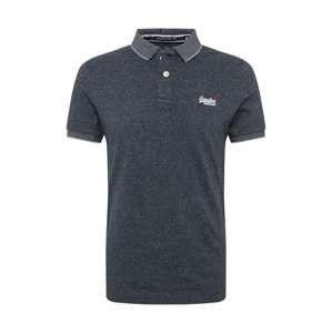 Superdry Tričko 'CLASSIC'  námořnická modř