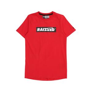 Raizzed Tričko 'Hamburg'  červená / černá / bílá