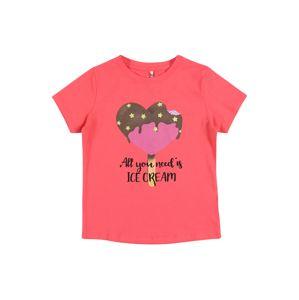 NAME IT Tričko  tmavě růžová