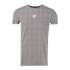 SikSilk Tričko  růžová / šedá