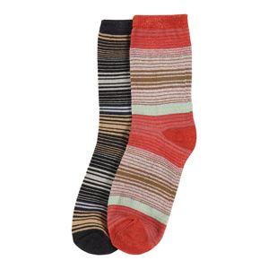 BeckSöndergaard Ponožky  mix barev / černá / červená
