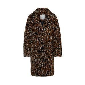 minimum Přechodný kabát 'belinde'  hnědá / černá