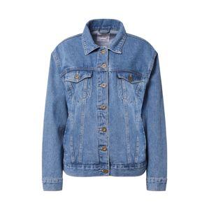 Cotton On Přechodná bunda 'NOT YOUR BOYFRIENDS'  modrá džínovina