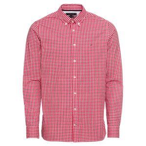 TOMMY HILFIGER Košile 'SLIM CHECK SHIRT'  červená